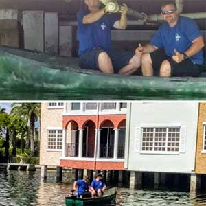 Boating Under a Home | Strong Plumbing Solutions - Southwest Florida
